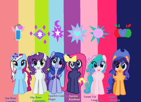 new OCs 2015 by SepticMelon