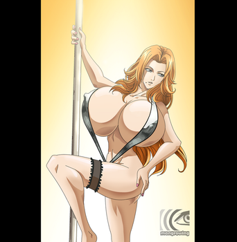 Rangiku dancing by mangrowing