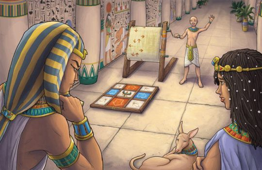 The Pharaoh is Unimpressed... by jadress