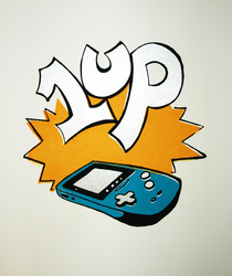 1 up by peguin-pirate