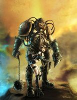 the Rifter Titan and babe by RCARADIO7
