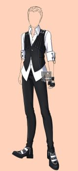 [open] Auction male fashion adopt Outfits (190) by YuiChi-tyan