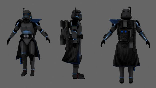 Imperial Arc Shadow Trooper by JakeGreen163