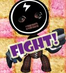 Sackboy is ready for rumble by VincentDeVille