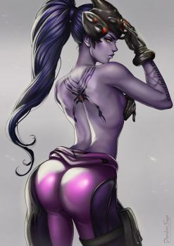 Widowmaker here. by dandonfuga