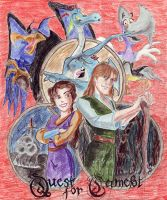 Quest for Camelot by Makoeyes7