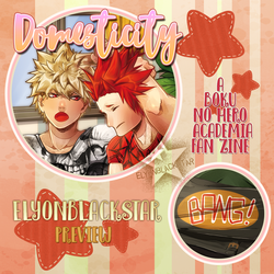 Bnha Domestic Zine Preview by ElyonBlackStar