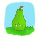 Pear Overlord by Greenpolarbear47