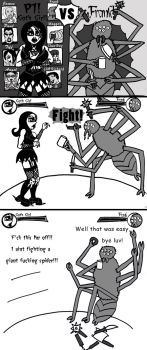 Spider Fight by blood-stained-hands