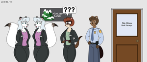 The Staff of Northwood Bank by SatsumaLord