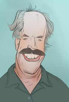 Powers Boothe by wholewheat-keyboard