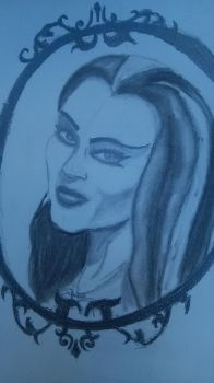 lily munster by silent-mage