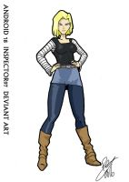 Android 18 by Inspector97