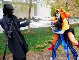 Advance or a8scond by QPUPcosplay