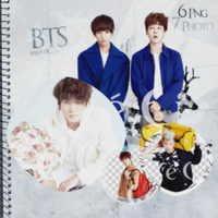 BTS PNG Pack by MinMelike
