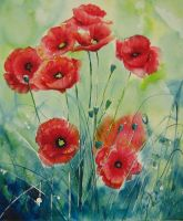 Poppies by patriszkarch