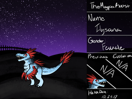 Ilysana Ref [PKMNation] by TheMagpiesRoost