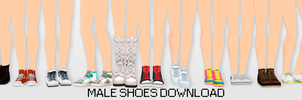 MMD Male Shoes DL by UnluckyCandyFox