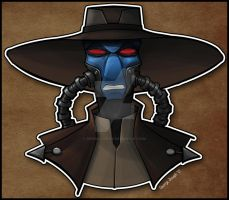 Cad Bane by Geekincognito