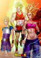 Super saiyans of the sixth universe by GGG85