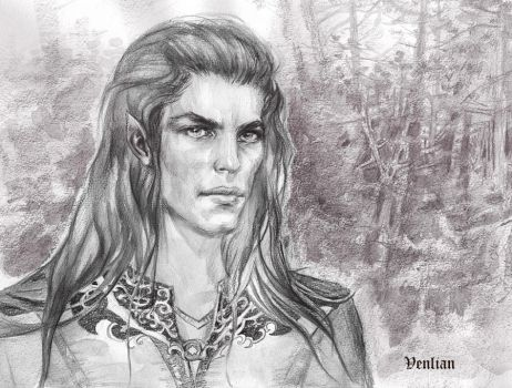 Young King (Feanor) by Venlian