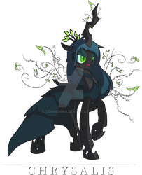 Queen Chrysalis - Lady of Thorns by ZidaneMina
