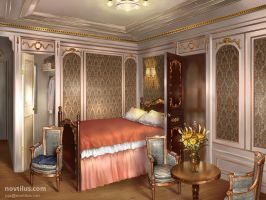 1st Class Stateroom of Titanic by novtilus