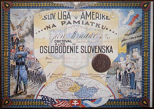 Slovak League of America Memorial list by Rodegas