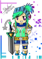 Arcade Riven Chibi by Shintaragi