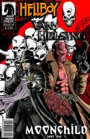 Hellboy- Van helsing fake comics cover by CamposBane