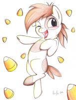 Its Raining Candycorn and Pipsqueak! by PrettyPinkP0ny