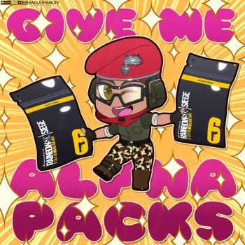 Give me Alpha Packs by MilaTheMute