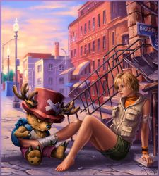 Heather and Chopper by Candra