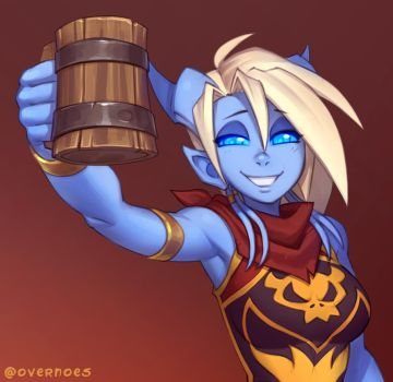 Draecember 31st - At a party by Zeon-in-a-tree