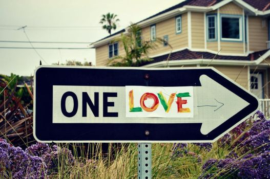 One Way. One Love by Dew-Bug