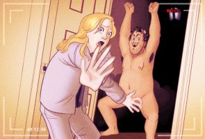 Parks and Recreation: Andy's Nude Visit by Paperwick