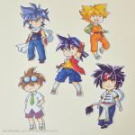 Tiny Bladebreakers by LonelyFullMoon