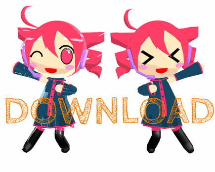 Chibi Teto DOWNLOAD :D by Aira-Melody