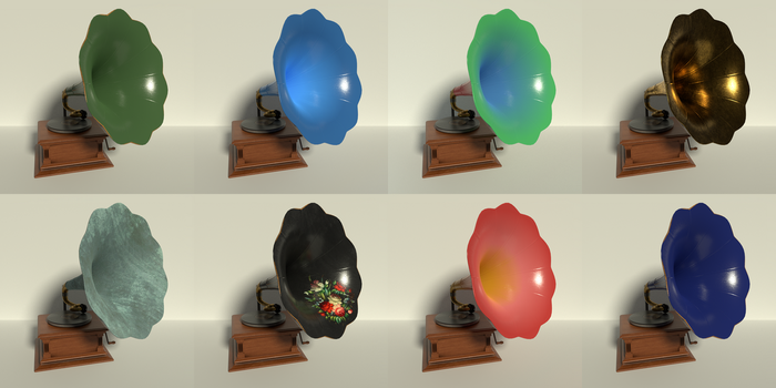 Phonograph (All Colors) by kbmxpxfan