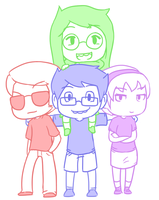 The Kids by Johorrible
