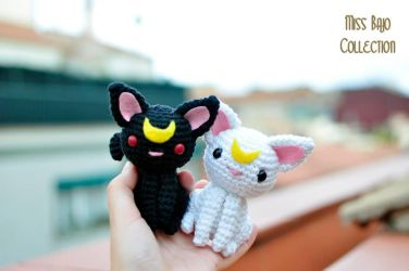 Sailormoon Cats by MissBajoCollection
