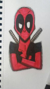 Deadpool by RaynaOfTheDead