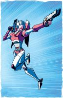 G1 Arcee Commission by dcjosh