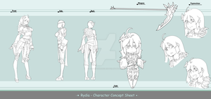 Concept Sheet - Rydia by Asgard-Chronicles
