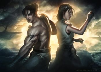 Tekken Tag Tournament 2: Mother and Son by JophielS