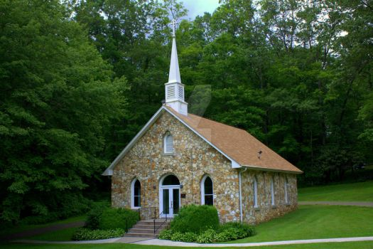 Mayberry Church by TheReverendEd