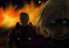 _:Behind the Flames:_  Agents North and South by ReveLeViFleur