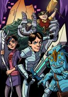 Trollhunters by mistermuck