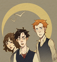 Harry Potter by charlottevevers