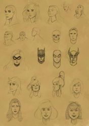 Faces Practice 8 by Shadow696